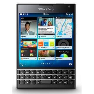 Blackberry Passport SQW100-3 Unlocked GSM Phone w/ 3-row keyboard - Black (Certified Refurbished)