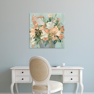 Easy Art Prints Emma Scarvey's 'Soft Pastel Bouquet II' Premium Canvas Art