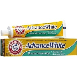 ARM & HAMMER Advance White Baking Soda Toothpaste, Frosted Mint 6 oz