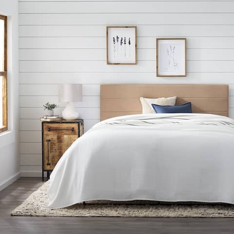 BrooksideStella Upholstered ThreeChannelHeadboard
