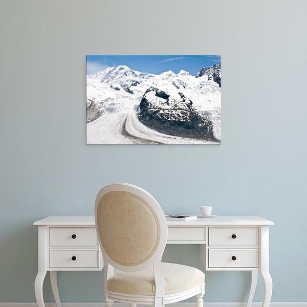 Easy Art Prints Michael DeFreitas's 'Gornergrat Peak' Premium Canvas Art