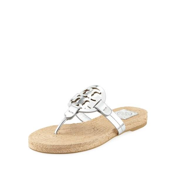 4f83dd1998d Shop Tory Burch Miller Metallic Sandal Womens - 8 - Free Shipping ...