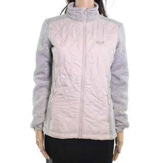 Jack Wolfskin NEW Gray Womens Size XS Quilted Full Zip Space Dye Jacket