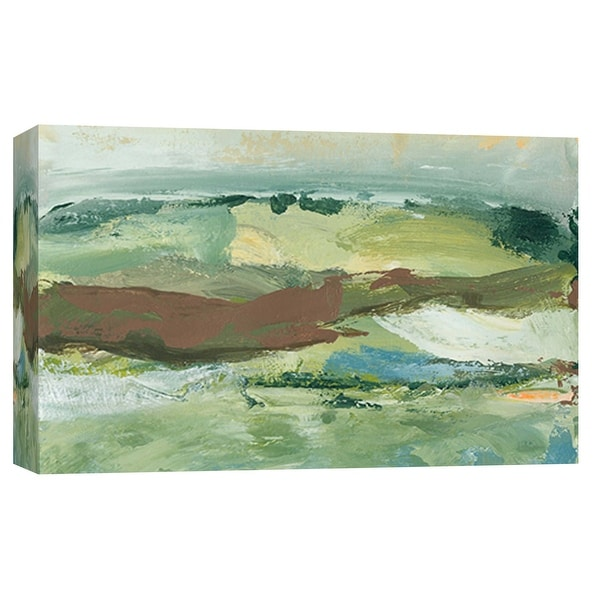 """PTM Images 9-101920 PTM Canvas Collection 8"""" x 10"""" - """"Landscape Study 18"""" Giclee Abstract Art Print on Canvas"""