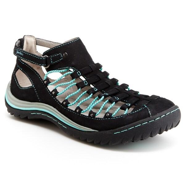 Jambu Bondi Womens Bungee Laced Shoes - Midnight