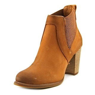 Ugg Australia Cobie Women Round Toe Leather Brown Ankle Boot
