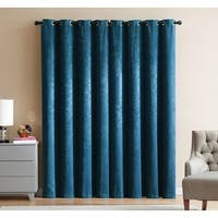 Marco 2-Pack Velvet Room Darkening Grommet Panels, Teal, 74x84 Inches