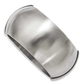 Stainless Steel Matte Finish Hinged Bangle
