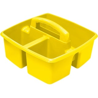 "Yellow - Storex Small Caddy 9.25""X9.25""X5.25"""