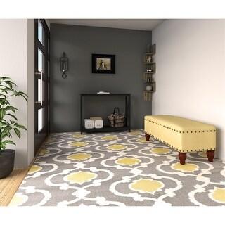 "Link to Wood Industrial Corner 5 tiers Wall Shelf Wooden Mount Rack - 7'9"" x 9'9"" Similar Items in Living Room Furniture"