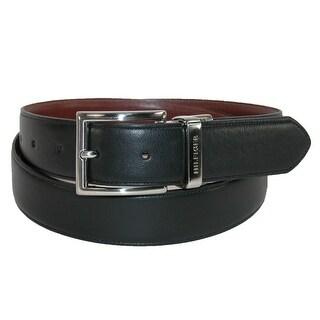 Tommy Hilfiger Men's Feather Edge Reversible 32mm Belt