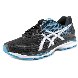 Asics Gel-Excite 4 Men Round Toe Synthetic Black Running Shoe