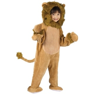 Fun World Cuddly Lion Toddler Costume - Brown - 3t-4t
