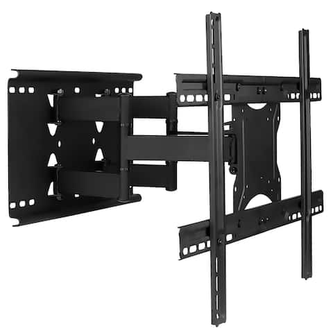 Mount-It! Full Motion TV Wall Mount with Dual Articulating Arms for 32-80 Inch TVs