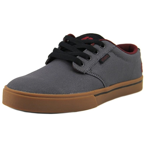 Etnies Jameson2 Eco Men Round Toe Canvas Gray Skate Shoe
