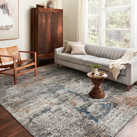 Alexander Home Charlotte Modern Watercolor Area Rug