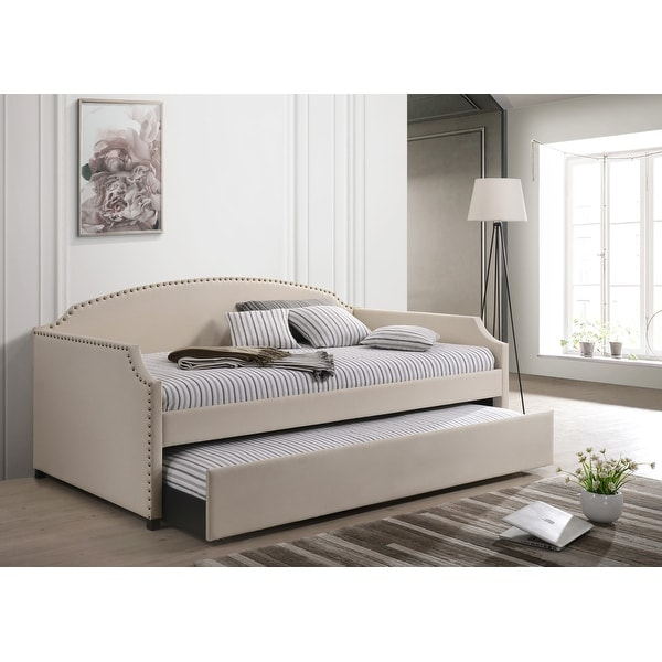 Yamna Upholstered Twin Daybed. Opens flyout.