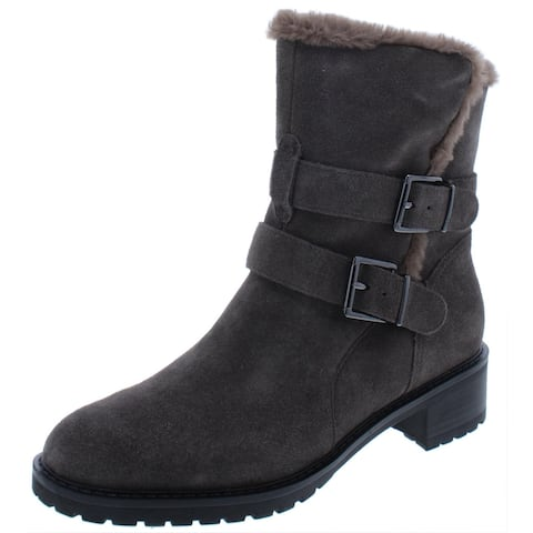Bandolino Womens Calisa Winter Boots Suede Cold Weather