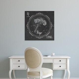 Easy Art Prints Sara Zieve Miller's 'Night Sky Virgo' Premium Canvas Art