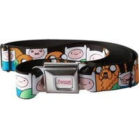 Adventure Time Finn and Jake Seatbelt Belt-Holds Pants Up