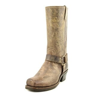 Frye Harness 12R Square Toe Leather Mid Calf Boot