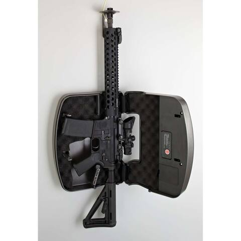 Hornady RAPiD Safe AR Wall Lock RFID Provide Secure Firearm Storage TouchFree