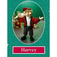 """11"""" Zims The Elves Themselves Harvey Collectible Christmas Elf Figure - multi"""