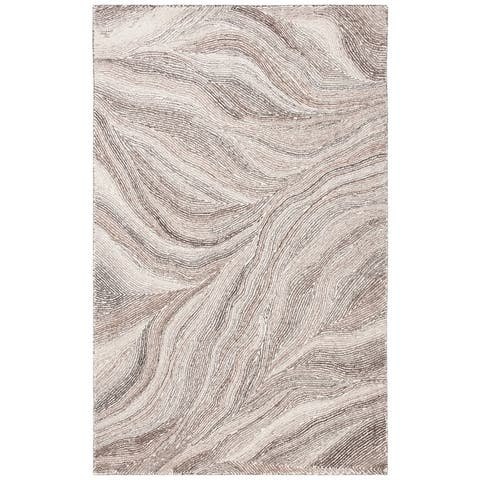 Safavieh Handmade Metro Sigalit Abstract Wool Rug