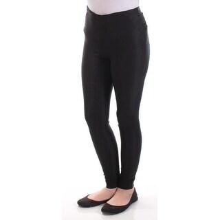 MATERIAL GIRL $44 Womens New 1030 Black Skinny Casual Leggings XS Juniors B+B