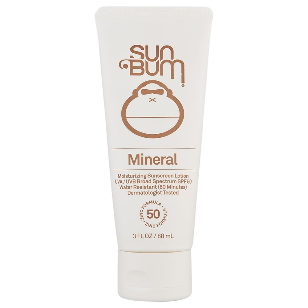 Sun Bum Mineral SPF 50 Sunscreen Lotion 3 oz (White - Facial Sunscreen)