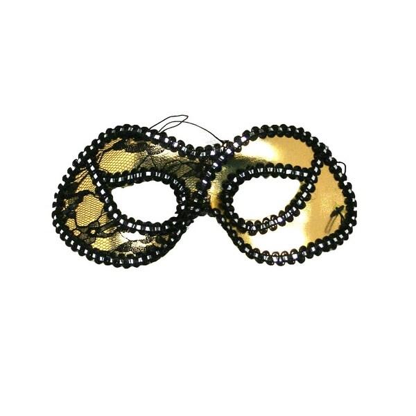 Gold Masquerade Half Mask