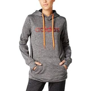 Adidas Womens Hoodie Logo Pullover