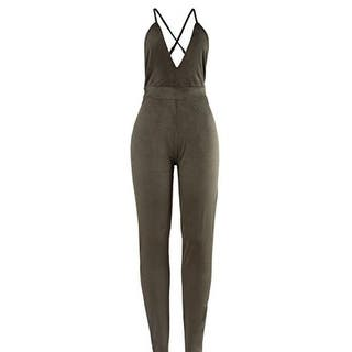 Sedrinuo Womens Jumpsuit Faux Suede Backless - m|https://ak1.ostkcdn.com/images/products/is/images/direct/d21dfce91deae947dd046797a7cc3d073fd40767/Sedrinuo-Womens-Jumpsuit-Faux-Suede-Backless.jpg?impolicy=medium