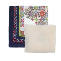 David & Young Women's Moroccan Tile Neckerchief and Kite Set - One size