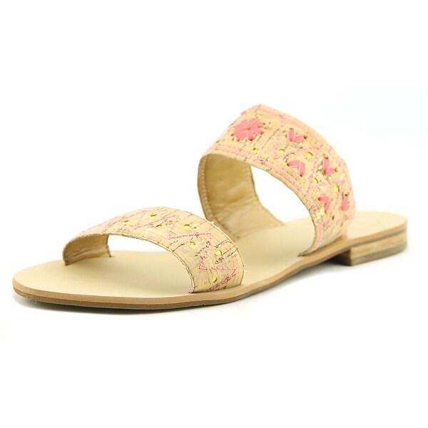 Jack Rogers Adair Women Open Toe Synthetic Nude Slides Sandal