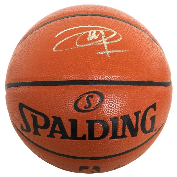 425f24883d6 Shop Joel Embiid Philadelphia 76ers Signed Spalding NBA Basketball ...