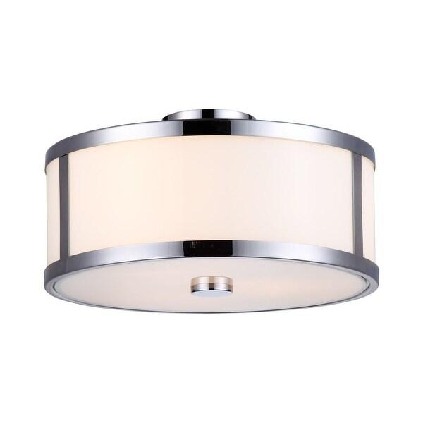 DVI Lighting DVP1112 Uptown 3-Light Semi-Flush Ceiling Fixture