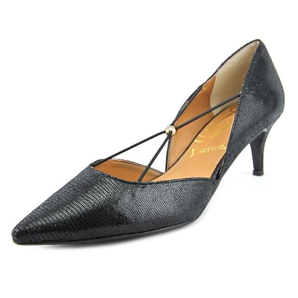 J. Renee Veeva Women Pointed Toe Synthetic Black Heels