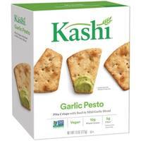 Kashi Pita Crisps Garlic Pesto - Pita Crisps - Case of 12 - 7.9 oz.