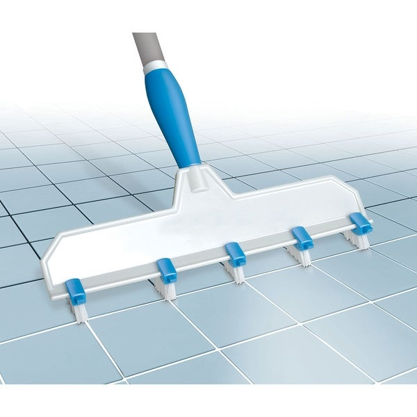 Adjustable Grout Brush - White