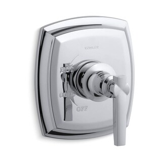 Kohler K-TS16235-4 Margaux Rite-Temp Single Handle Pressure Balanced Valve Trim with Metal Lever Handle - N/A