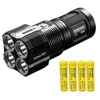 NITECORE TM28 Tiny Monster 6000 Lumen QuadRay Flashlight