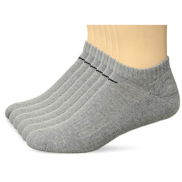 cesar después del colegio Sur  Shop Nike Performance Cotton Cushioned No-Show Socks with Bag - (6 Pairs) -  Overstock - 22719148
