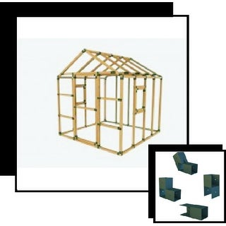 E-Z Frame 8X8 Playhouse Structure Kit