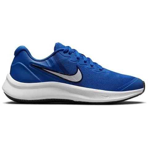 Nike Unisex-Child Star Runner 3 (GS) Sneaker (Game Royal/White-Midnight Navy)