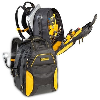 CLC Work Gear Dewalt 33 Pocket Lighted USB Charging Tool Backpack - DGCL33