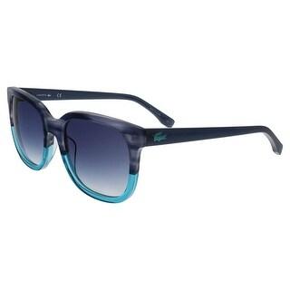 Lacoste L815/S 424 Blue Square sunglasses Sunglasses - 55-19-140