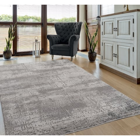 Porch & Den Richard Hi-low Abstract Area Rug