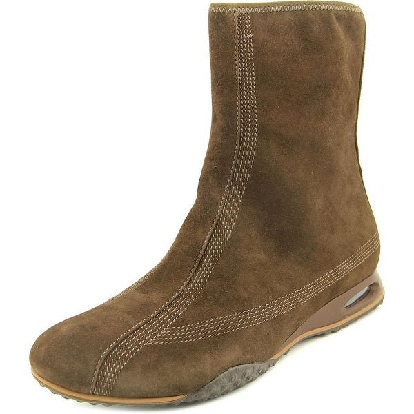 Cole Haan Air Beau Short Boot Women  Round Toe Suede  Ankle Boot