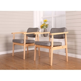 Solid Wood Legs PP Plastic Seat Non-slip Foot Pads Ideal Chairs for Dining Room House Furniture